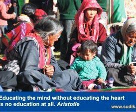 Vzdělávat srdce, nejen mysl, má smysl …